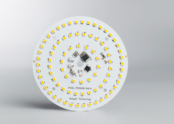 AC LED Phase Dimmable Round Module  LED Mounted PCB Lighting 110LM/W 4000K