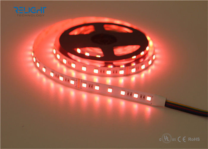 WW / CW / RGB 5050 Outdoor Led Strip Lights Waterproof Flexible IP65 UL list