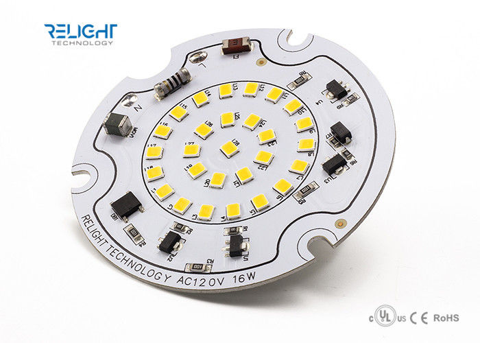 Aluminum PCB 16W AC LED Module 1600lm track light module with 120V triac dimming 3000K