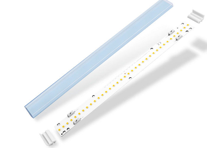 SMD2835 size 280*30mm 120V 9W PF0.95 1000-1200lm CRI up to90 Aluminum material PCB white color Indoor Linear led module